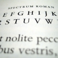 """Muestrario de la tipografía """"Spectrum"""""""